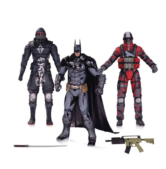 Batman Arkham Knight Batman & Thugs 3 Pack