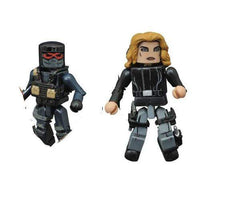 Marvel Minimates Series 67 Agent 13 and Evil Thug