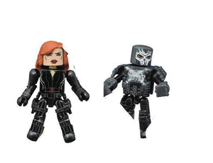 Marvel Minimates Series 67 Black Widow and Crossbones