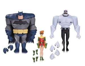 Batman Animated Batman Robin Mutant 3 Pack