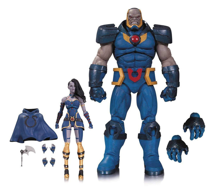 Darkseid and Grail Action Figure 2 Pack