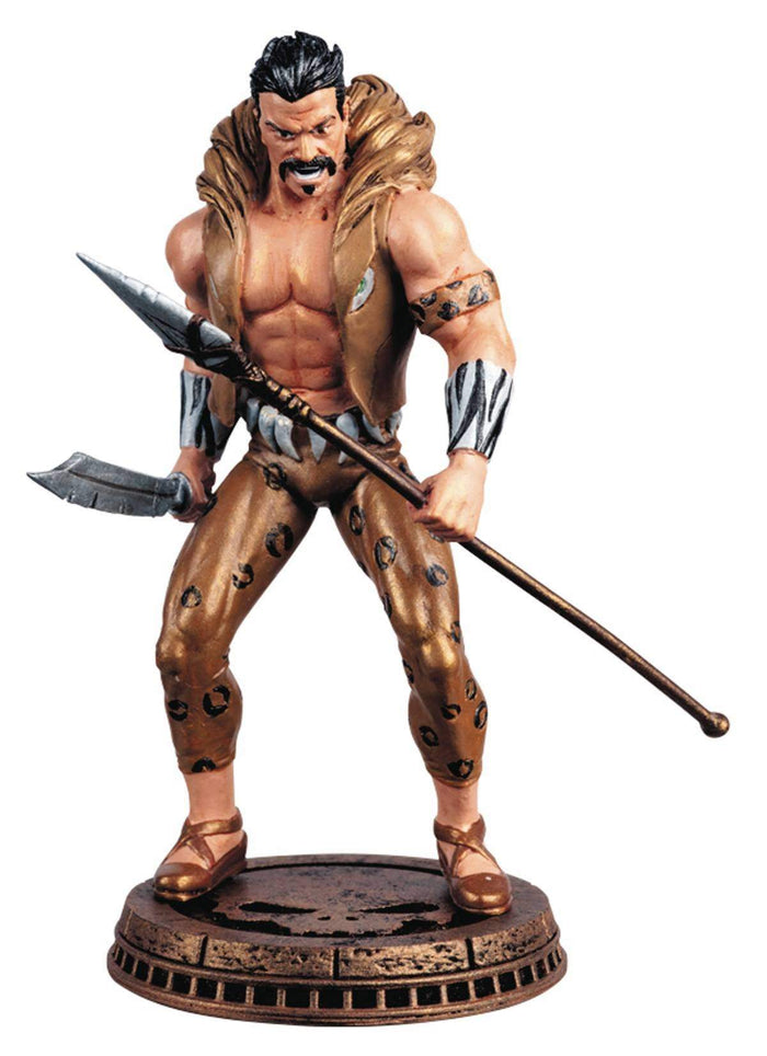 Marvel Chess Figure #80 Kraven the Hunter Black Pawn