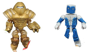Blizzard II vs SHIELD Mandroid - Marvel Minimates Series 69