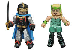 Black Knight and Enchantress - Marvel Minimates Series 69