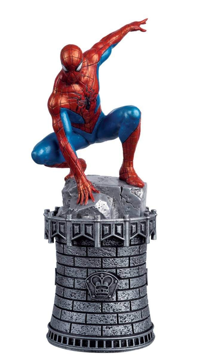 Marvel Chess Figure #83 Amazing Spider-Man White King
