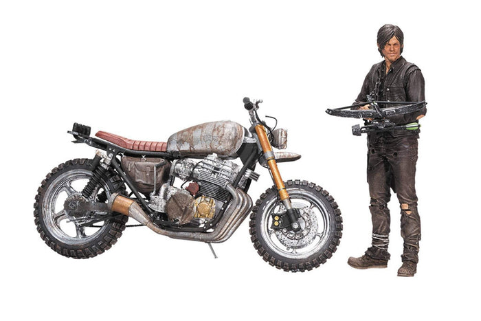 Walking Dead TV Dixon W/New Bike  Box Set