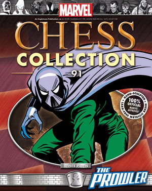 Marvel Chess  #91 Prowler White Pawn