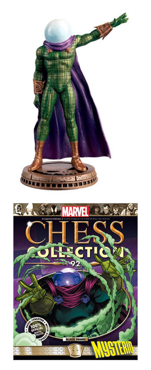 Marvel Chess Figure #92 Mysterio Black Pawn