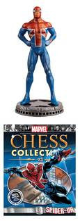 Marvel Chess Figure #93 Spider-Uk White Pawn