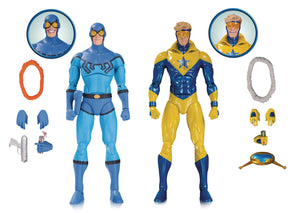 DC Icons Booster Gold & Blue Beetle 2 Pk