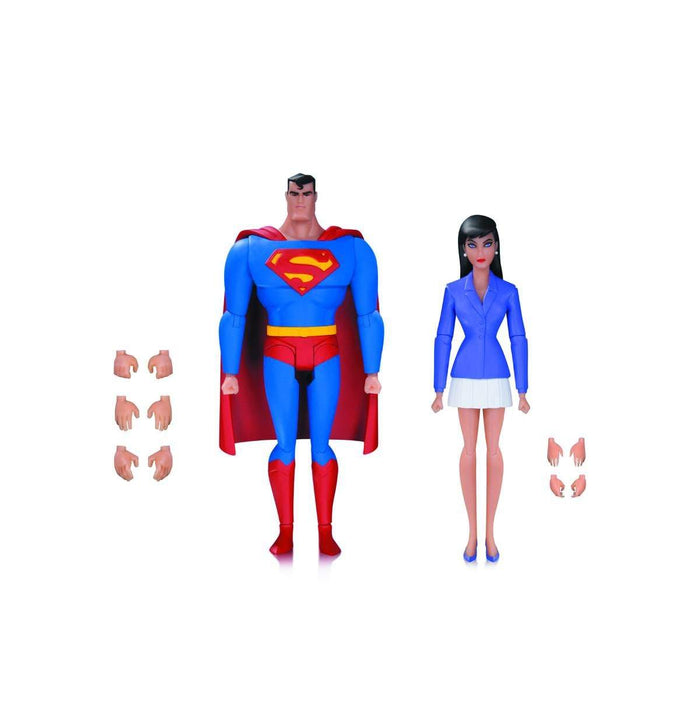 Superman Animated Series Superman and Lois Lane 2 Pack