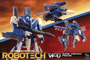Robotech 1/100 Scale Max Sterling Super Veritech