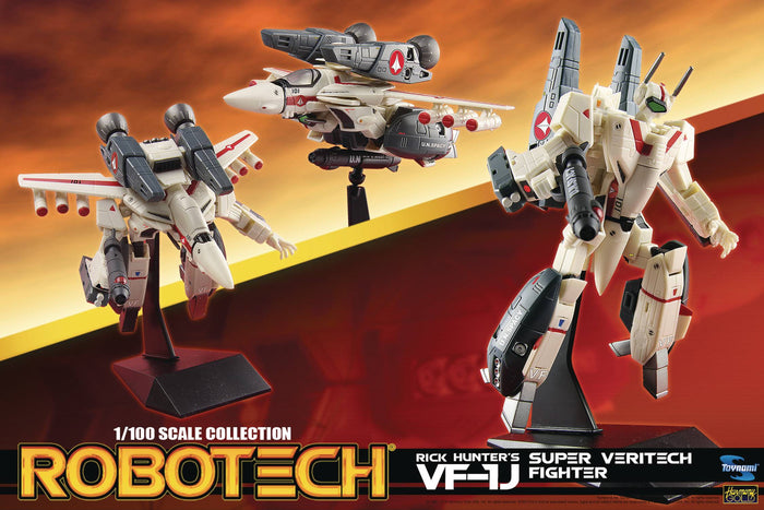Robotech 1/100 Scale Rick Hunter Super Veritech