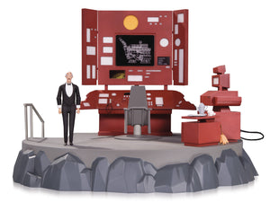 Batman Animated Batcave Playset With Alfred