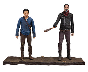 "Walking Dead TV Negan & Glenn 5"" Action Figure 2 Pack"