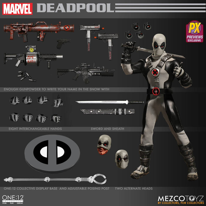 One-12 Collective Marvel X-Force Deadpool Px