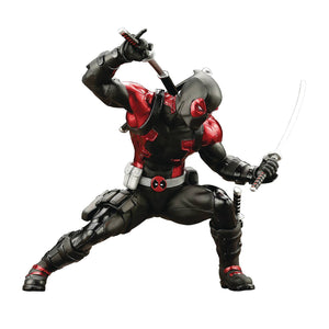 Marvel Now Deadpool Black Suit Artfx+ Statue