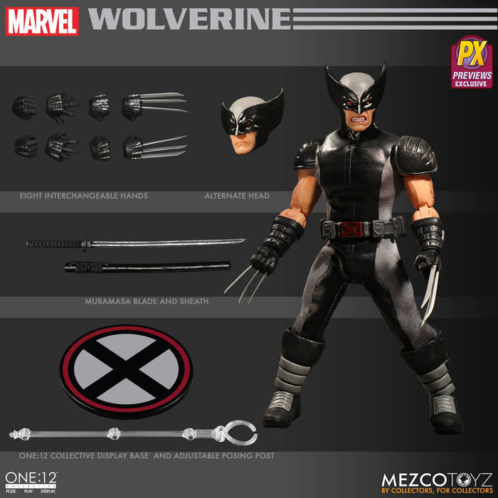 One-12 Collective Marvel X-Force Wolverine Px