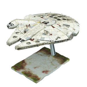 Star Wars Solo Millennium Falcon 1/144 Model Kit Lando Calrissian Version