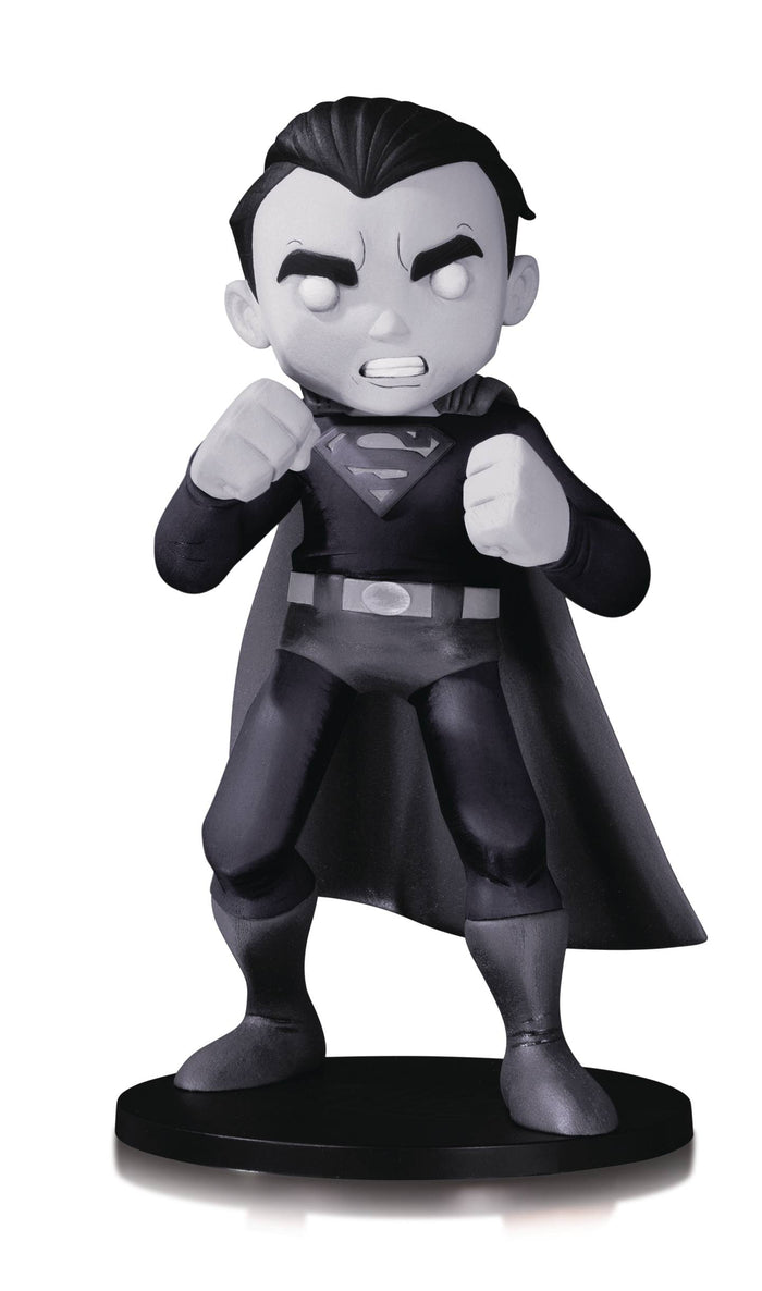 DC Artists Alley Superman By Chris Uminga B&W Vinyl Figure