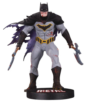 DC Designer Series Metal Batman Statue By Capullo
