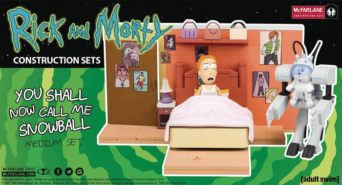 Rick & Morty Snowball Med Construction Set