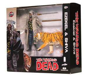 Walking Dead Ezekiel & Shiva All Out War 2-Pack (Color)