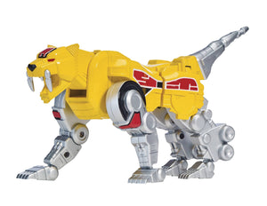 MMPR Legacy Sabertooth Tiger Zord W/Figure