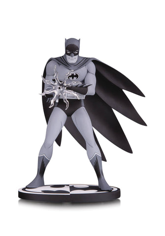 Batman Black & White Batman Statue By Jiro Kuwata
