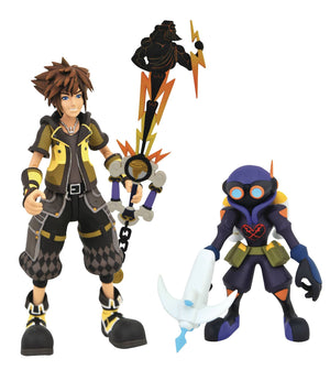 Guardian form Sora with Air Soldier (Hero's Origin Keyblade) - Kingdom Hearts 3 Select Series 2