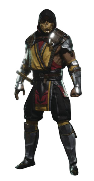 Mortal Kombat Scorpion 7In Action Figure