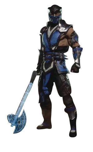 Mortal Kombat Sub-Zero 7In Action Figure