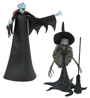 Tall Vampire with Tall Witch - Nightmare Before Christmas Select Series 8