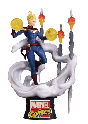 Marvel Comics Captain Marvel Ds-019 D-Stage Px 6In Statue