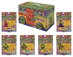 SDCC 2020 TMNT Retro Rotocast PX 6PC Action Figure Set