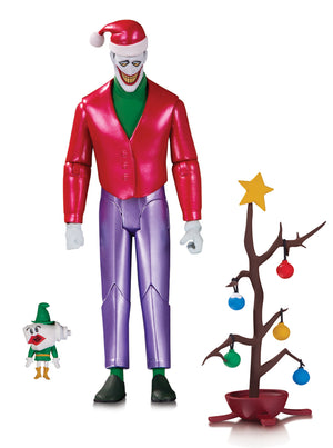Batman The Animated Set Christmas with The Joker