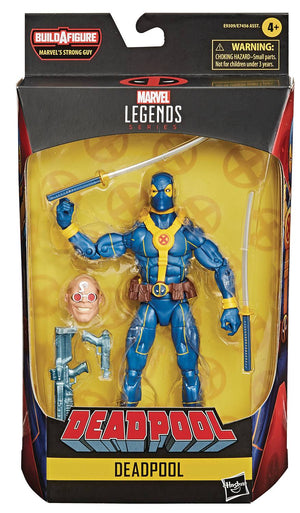 Blue Deadpool - Deadpool Marvel Legends Wave 3 (Strong Man BAF)
