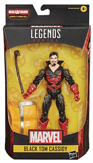 Black Tom Cassidy - Deadpool Marvel Legends Wave 3 (Strong Man BAF)