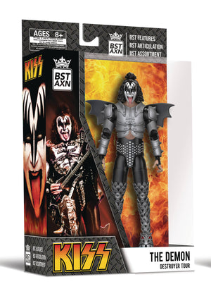 Bst Axn - Kiss The Demon 5In Action Figure
