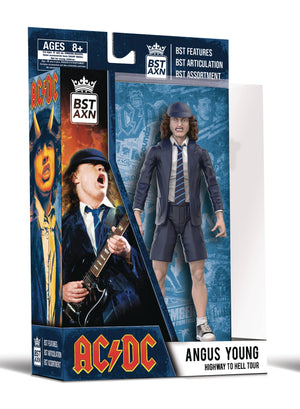 Bst Axn - Ac/Dc Angus Young 5In Action Figure