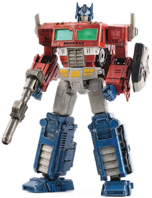 Transformers War For Cybertron Optimus Prime Dlx Scale Figure