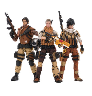 Joy Toy 45th Legion Wasteland Hunters 1/18 Figure Set
