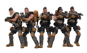 Joy Toy Pla Army Field Force 1/18 Figure 5Pk