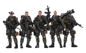Joy Toy PLA Army Anti-Terrorism Unit 1/18 Figure 5 Pack