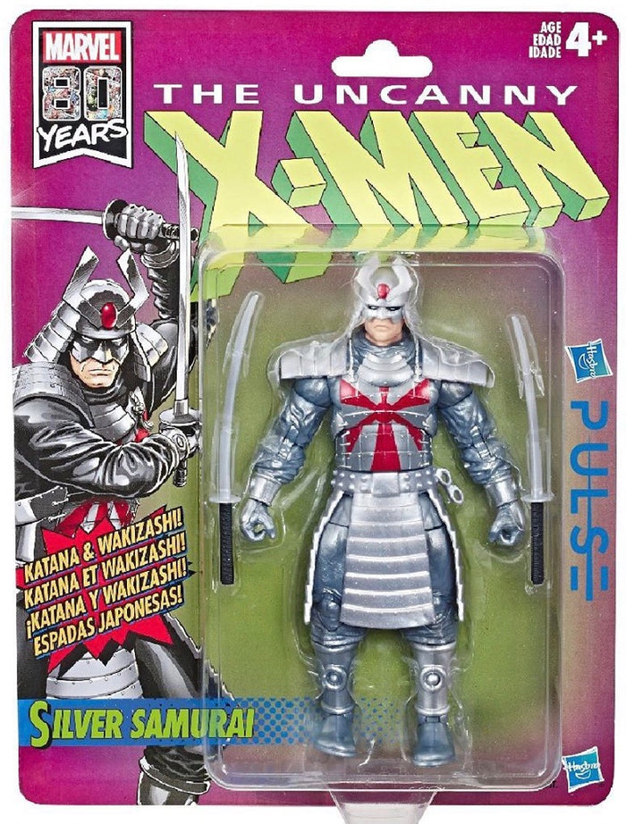 Silver Samurai - X-Men Retro Marvel Legends Wave 1