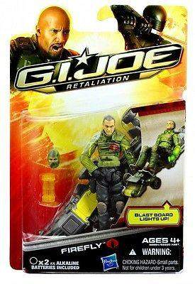 GI Joe Retaliation Firefly Wave 4 / Wave 5