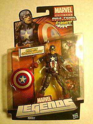 Marvel Legends Wave 4 Ultimate Captain America- Hit Monkey Build a Figure