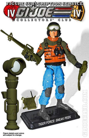 GI Joe Collector Club FSS 4.0 Tiger Force Advanced Recon: Sneak Peek