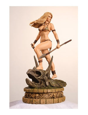 Women Dynamite Jungle Girl Statue Diamond Eye Proof