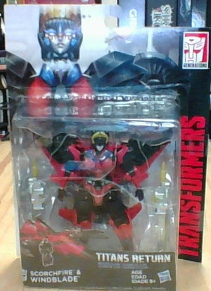 Windblade - Transformers Generations Titans Return Deluxe Wave 5